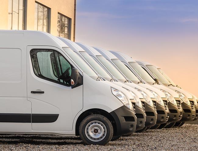 sprinter van shipping logistics